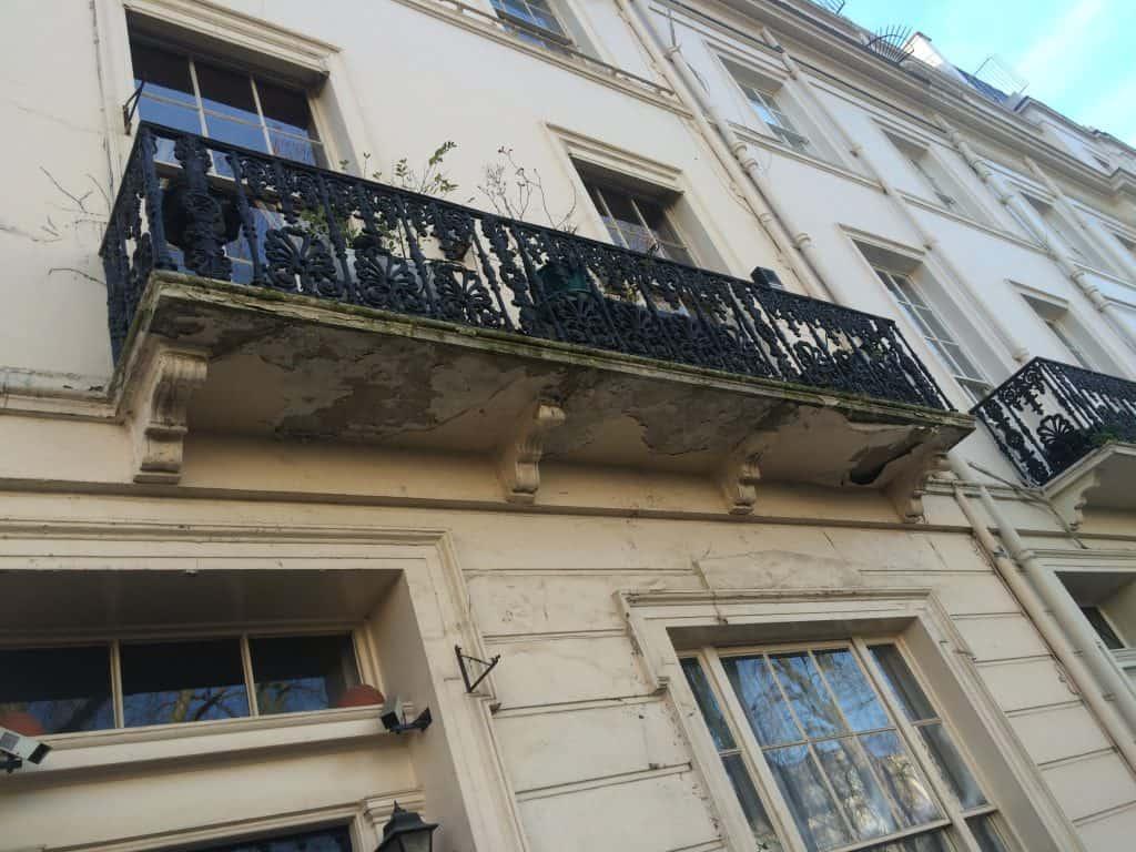 Balcony repairs london structural repairs for Balcony repairs