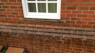 Concrete Window Sill Repairs