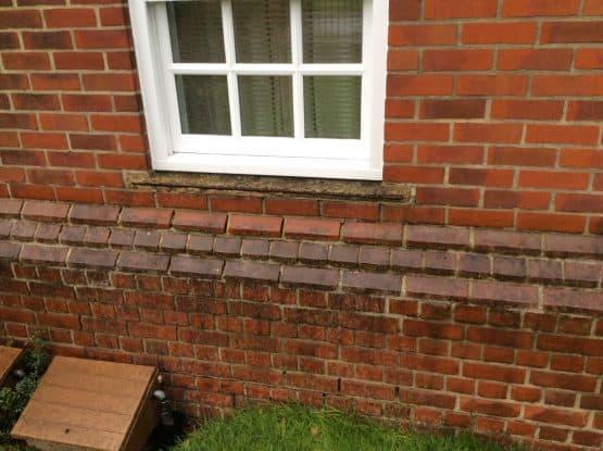 Concrete Window Sill Repairs