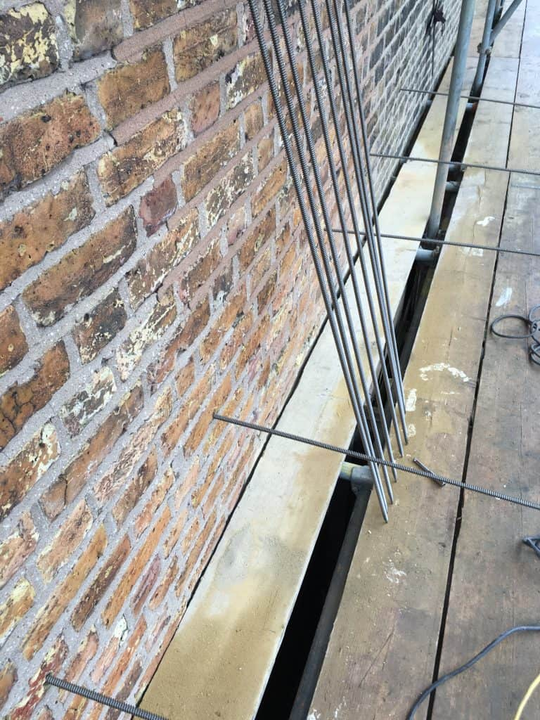 Bowing walls & Lateral restraint
