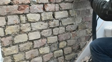 Brick Stitching Repair